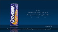 Orangina Slim Can Commercials_Fire